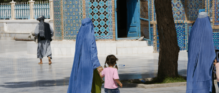 We raise our voices for Afghan women's rights in the Taliban takeover